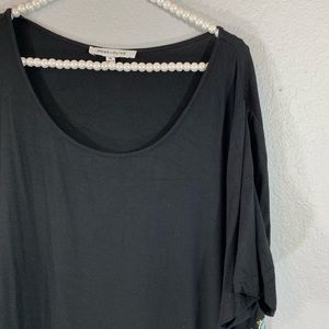 Rose and olive blouse